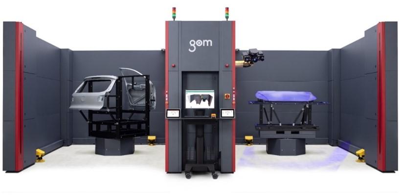 GOM ScanBox自动化三维检测,三维扫描仪