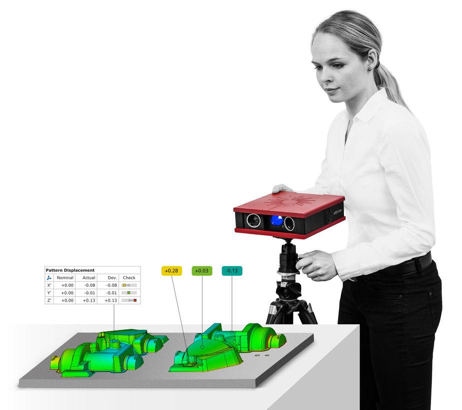 三维扫描仪,3D量测设备,ATOS Core