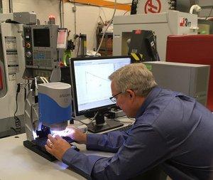 在工厂车间利用Alicona光学测量,工具制造商IMCO在工厂车间的测量时间减少了75%