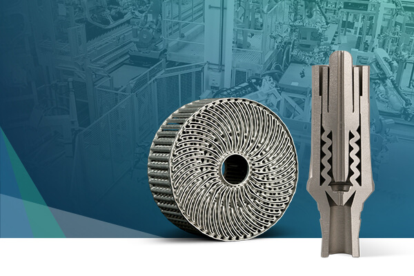 金属3D打印提高粒子检测能力