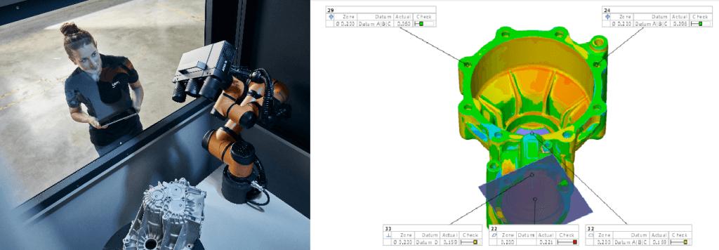 GOM光学3D测量系统