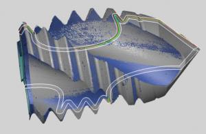 alicona检测刀具涂层样式图