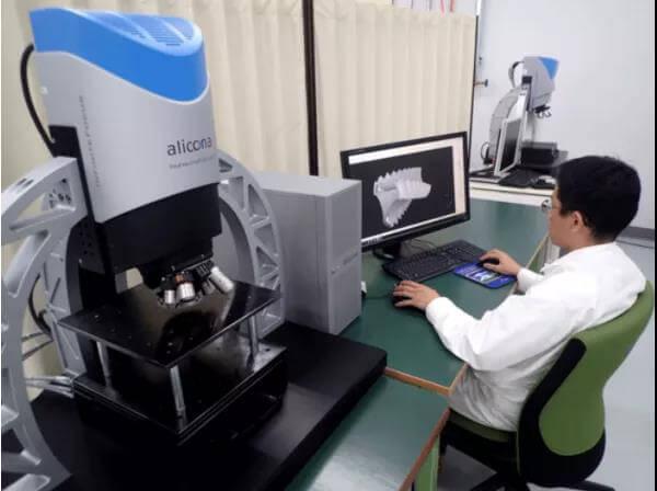 alicona 光学三维扫描仪